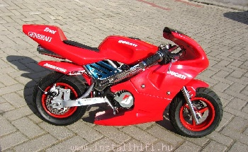 INSTALL POCKET BIKE DUCATI 2012